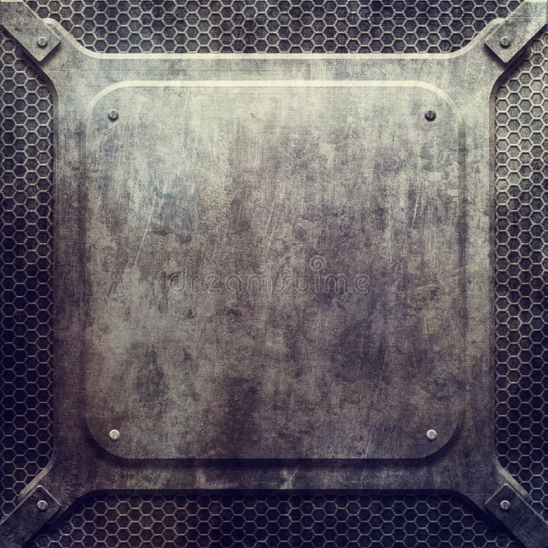 Metal la construction illustration de vecteur