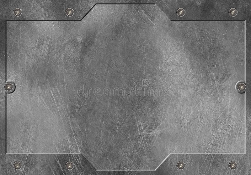 Metal la priorità bassa immagini stock libere da diritti