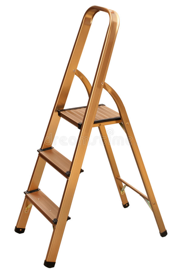 Metal ladder stock images