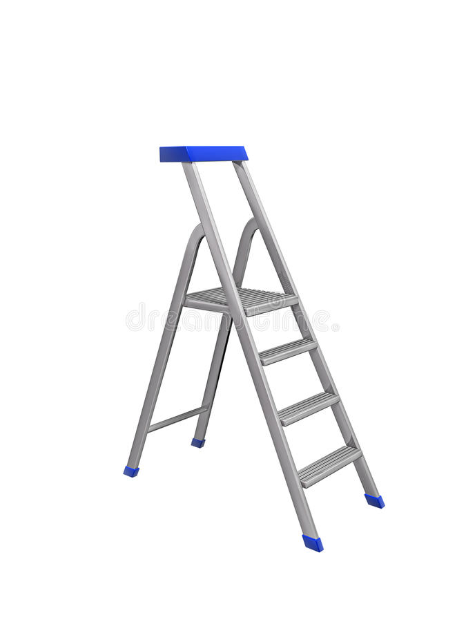 Download Metal ladder stock illustration. Illustration of climb - 27109413