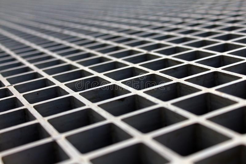 Metal lattice in the sun royalty free stock photography