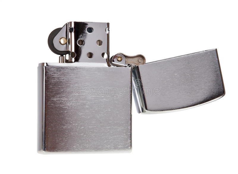 Download Metal lighter isolated stock image. Image of cool, danger - 27436809