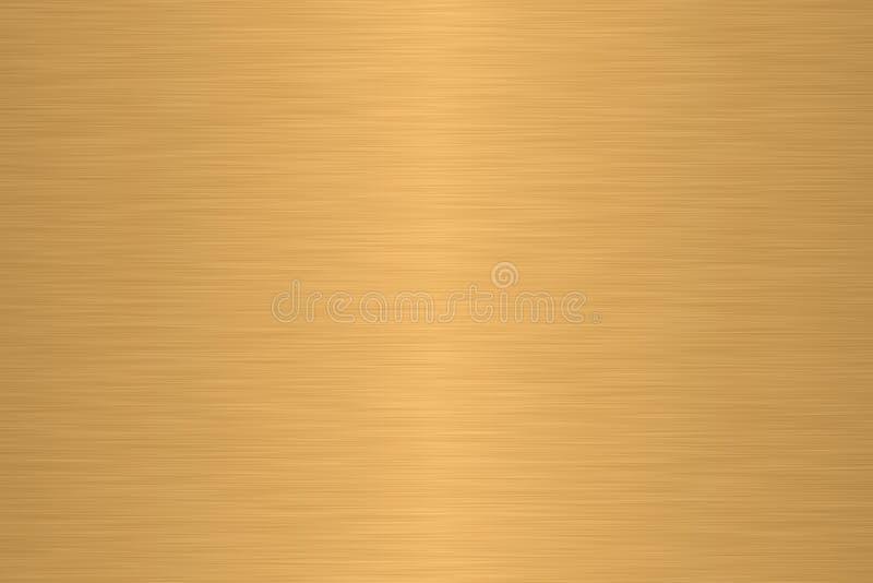 Metal linear del cepillo stock de ilustración