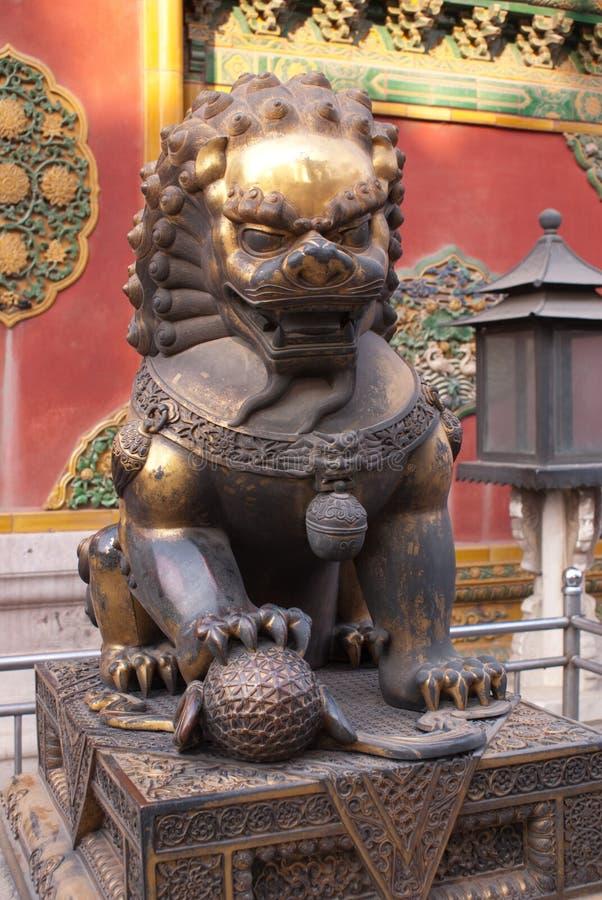 Download Metal lion stock image. Image of palace, china, history - 8096611