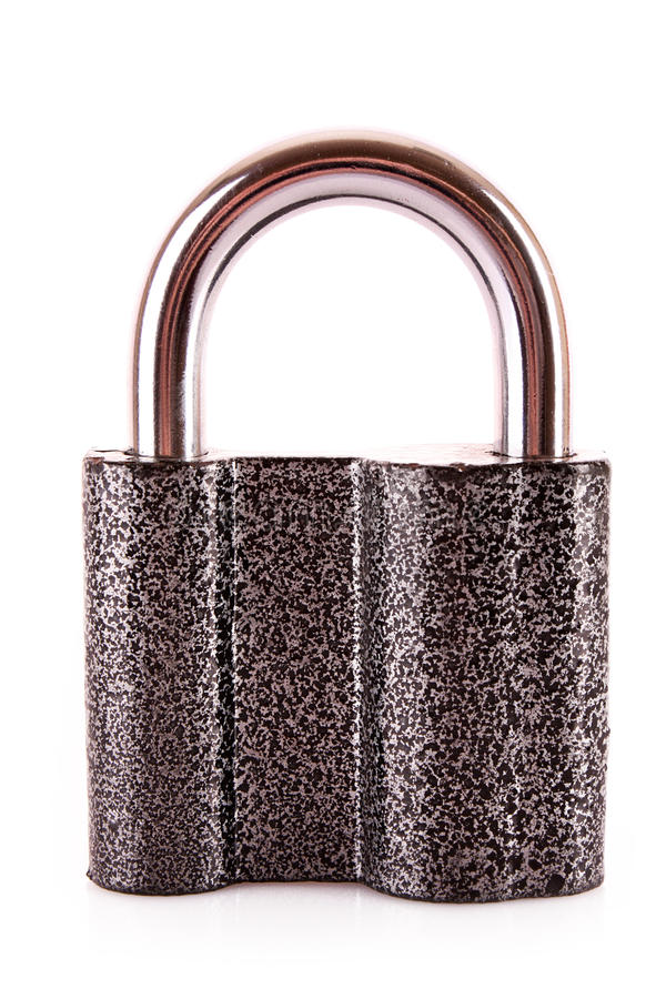 Download Metal lock isolated stock image. Image of lock, modern - 14978711