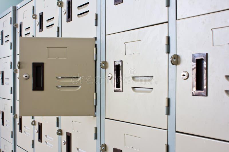 Metal Locker royalty free stock image