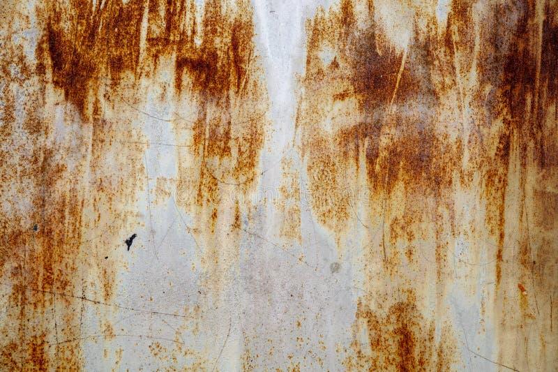 Metal maluj?ca tekstura fotografia stock