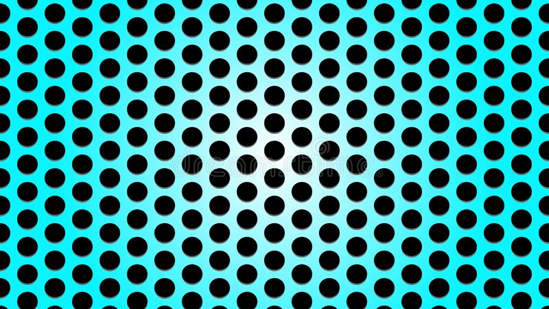 Bright Blue Metal Mesh Texture Background royalty free illustration