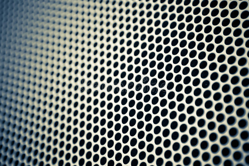 Metal mesh background. Abstract metal mesh background with dots stock image