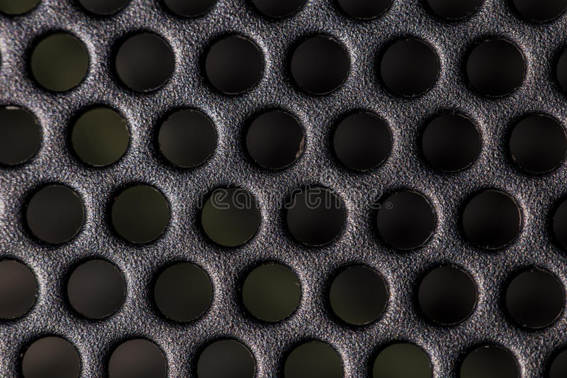 Metal mesh background. Abstract metal mesh background with dots stock photography