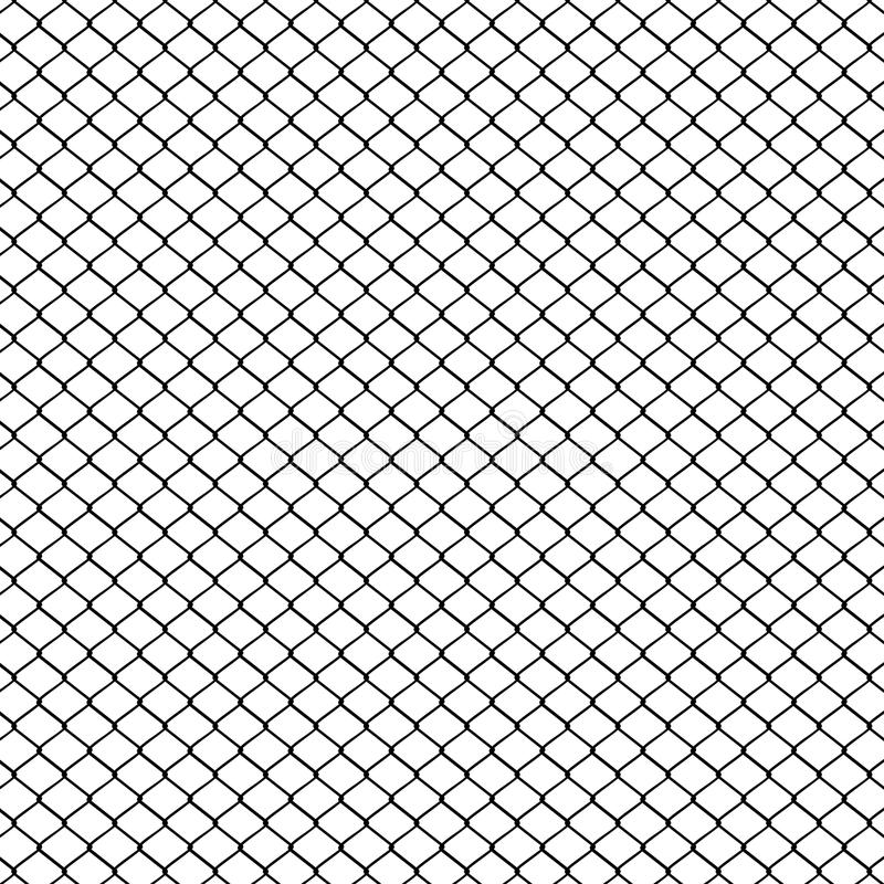 Metal Mesh Fence stock vector. Illustration of wall, security - 71789709