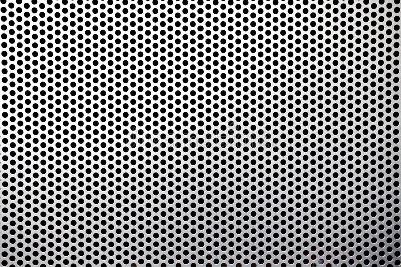 Metal Mesh Texture Stock Photo Image Of Equal Perforated
