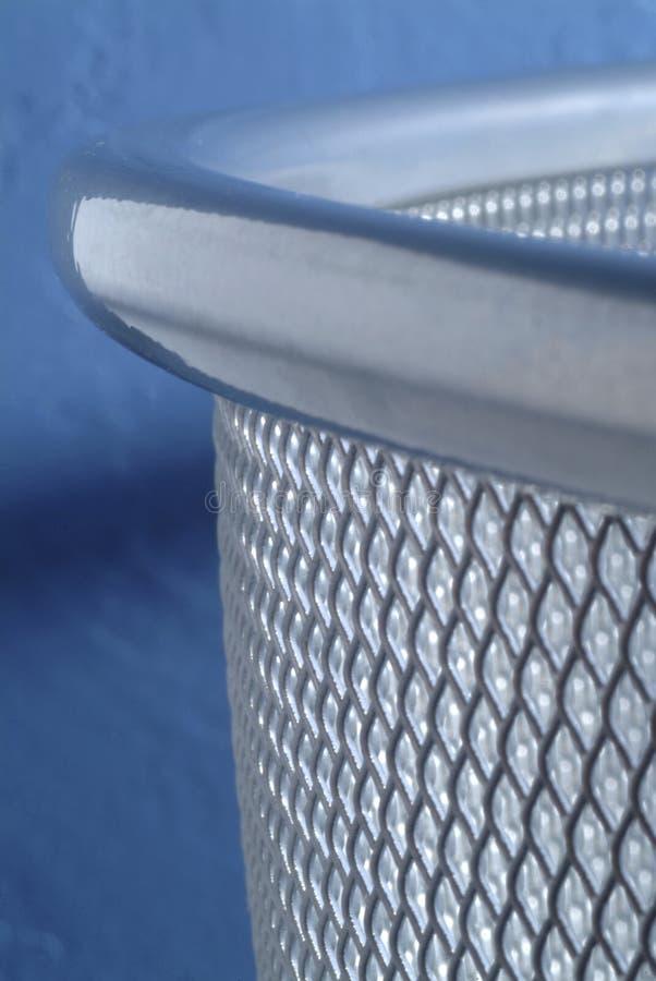Download Metal mesh waste bin stock photo. Image of close, mesh - 5564520
