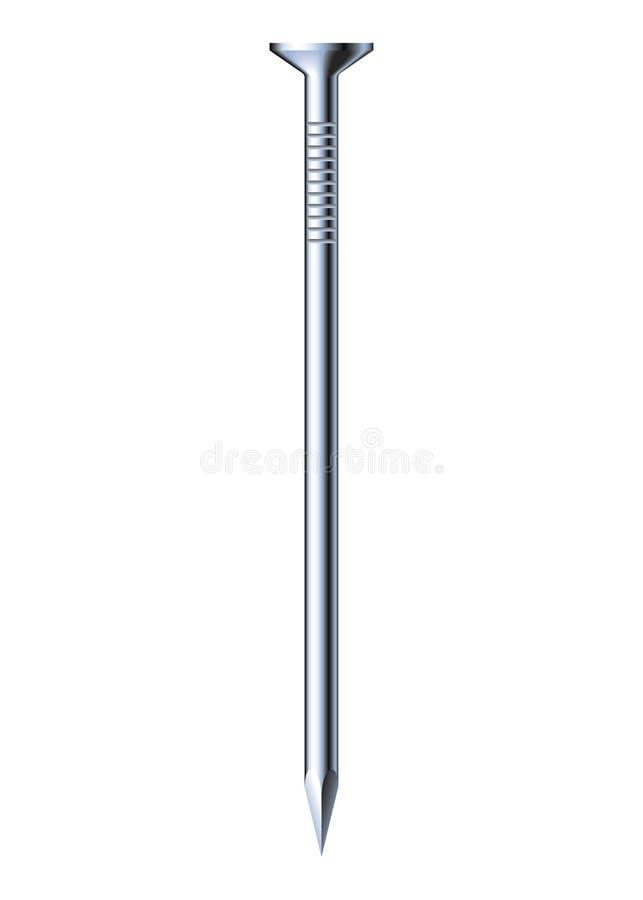 Download Metal Nail Stock Vector Illustration Of Carpenter