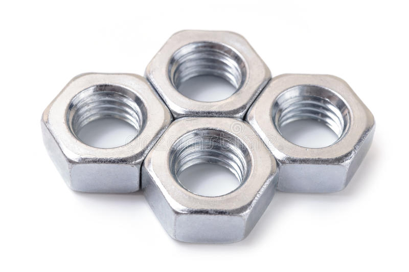 Metal nut royalty free stock photo