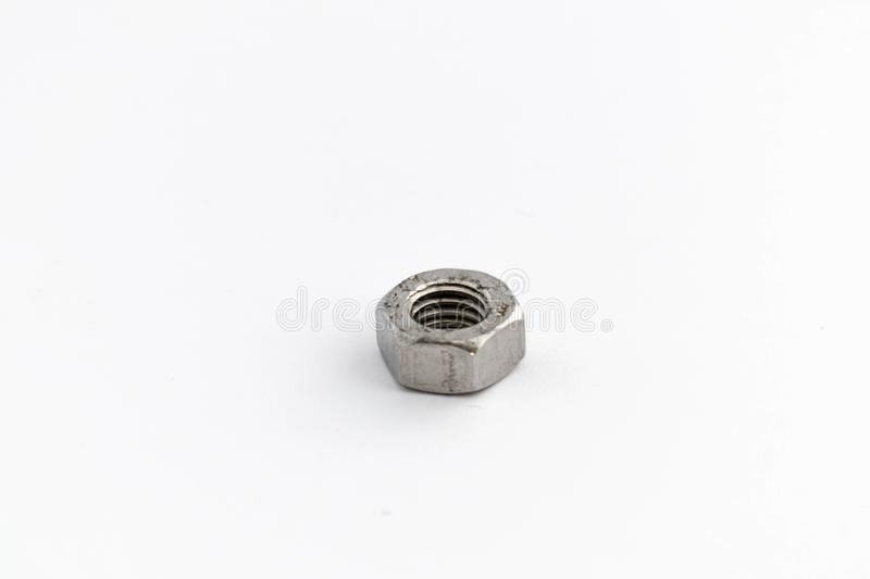 A Metal nut royalty free stock image