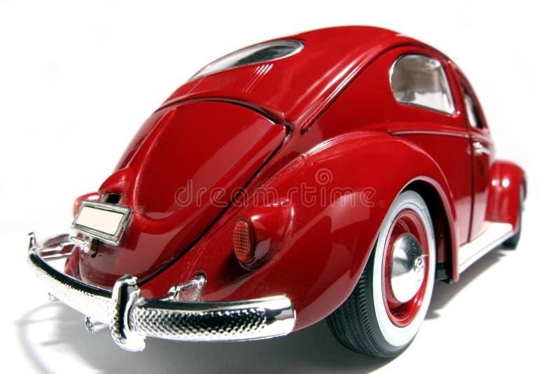Metal o fisheye 1955 velho da VW Beatle do modelo do brinquedo da escala #2 foto de stock