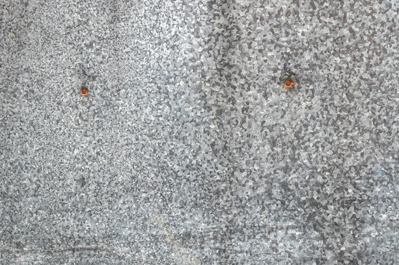 Metal old galvanized sheet. natural metal texture. as a background for the design royalty free stock image