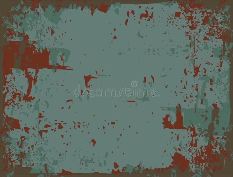 Metal oxidado ilustração do vetor
