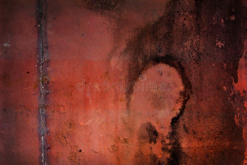 Metal oxidado de Grunge imagens de stock royalty free