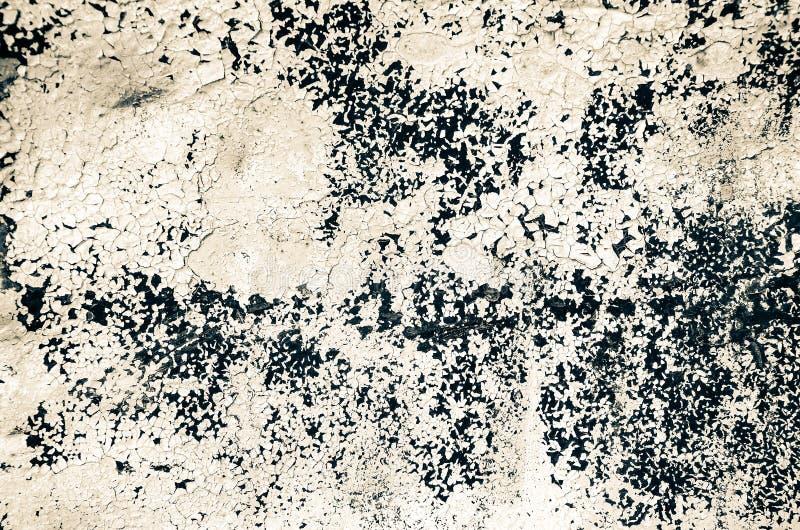 Metal oxidado pintado velho Fundo Textured imagem de stock