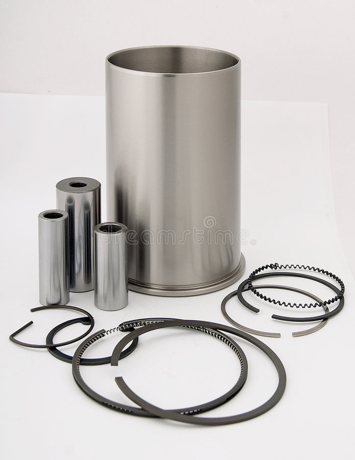 Metal Parts #1 Royalty Free Stock Image