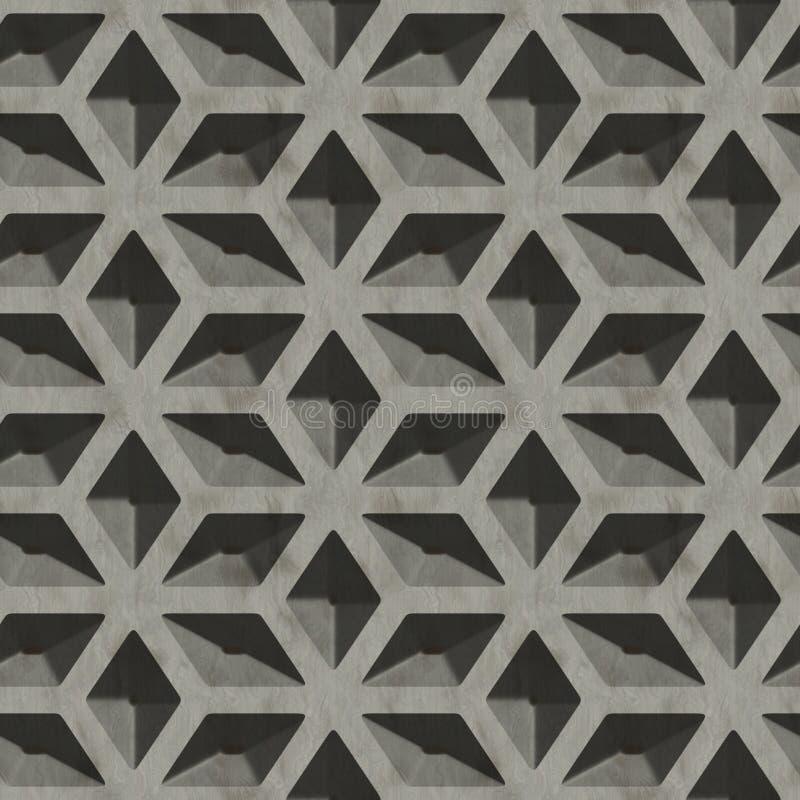 Metal pattern royalty free illustration