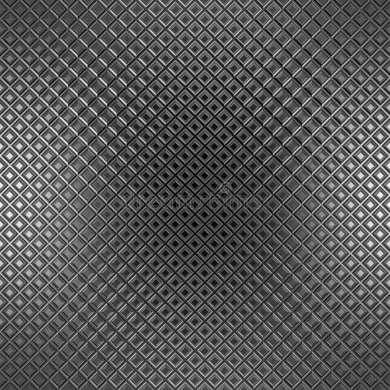 Metal pattern stock illustration