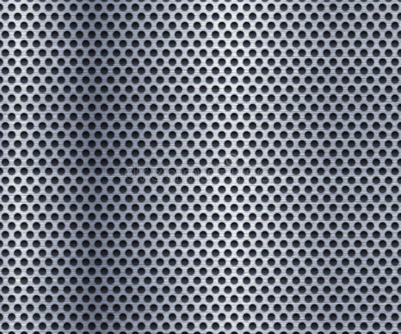 Metal_Perforated ilustração do vetor