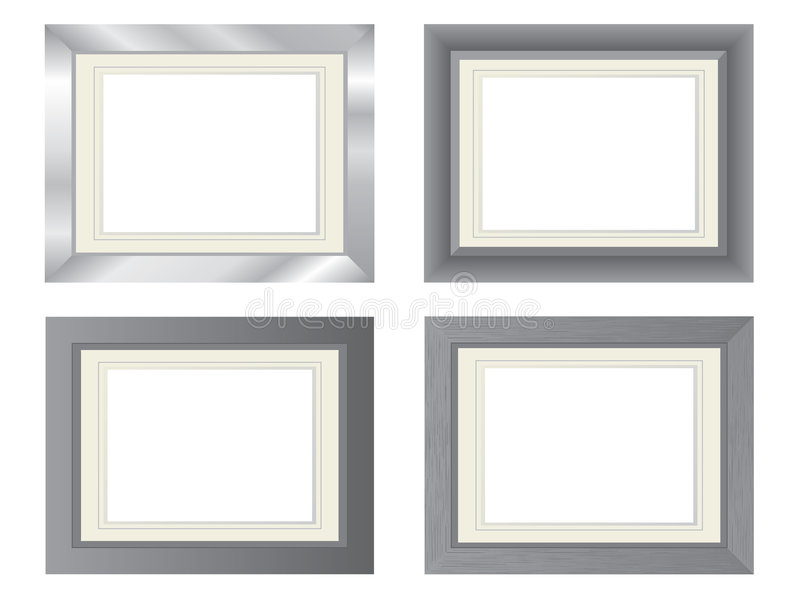 Download Metal Photo Frames Royalty Free Stock Images - Image: 5584809