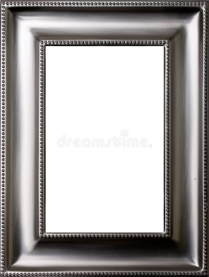 Download Metal picture frame stock photo. Image of metallic, picture - 8476506