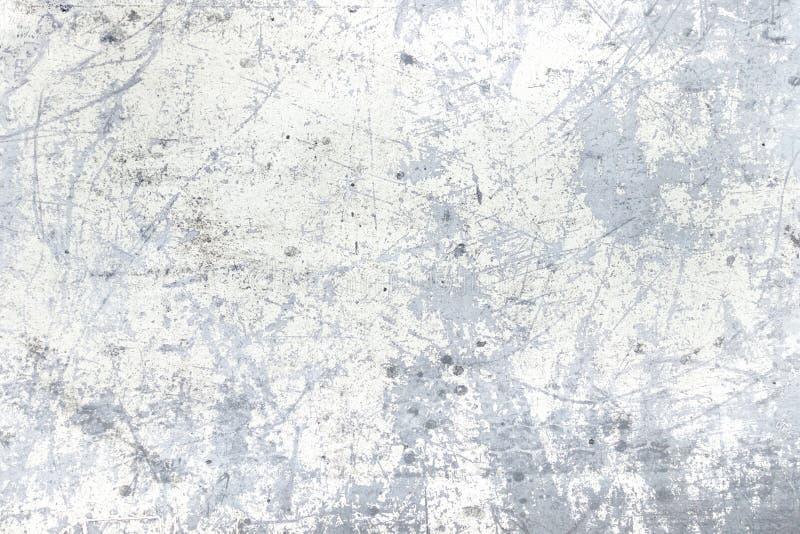 Metal pintado que salta la pintura blanca imagen de archivo libre de regalías