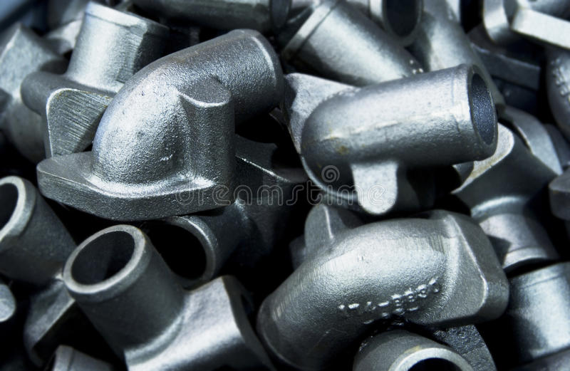 Download Metal pipe elbow parts stock photo. Image of aluminum - 21847752