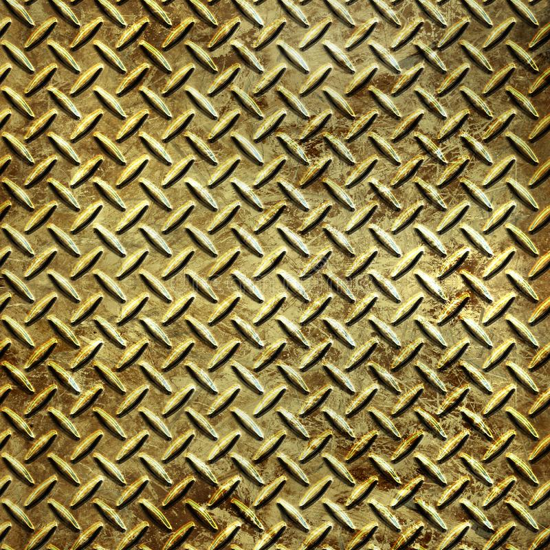 Metal plate 2 stock photography