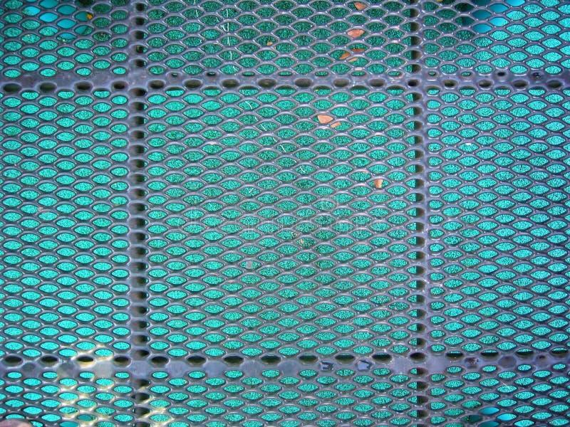Metal platform. Good for background stock photo