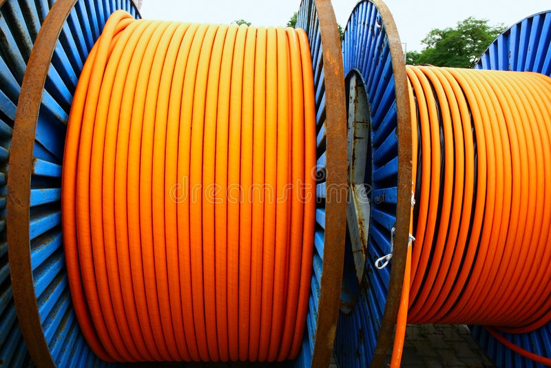 metal pomarańcze nawija druty zdjęcie royalty free