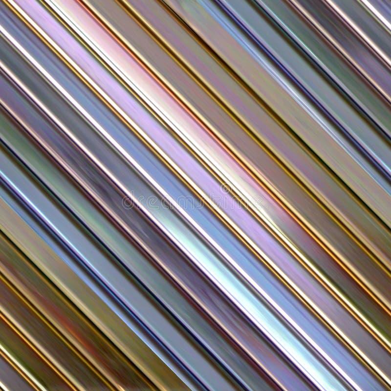 Metal postes stock de ilustración