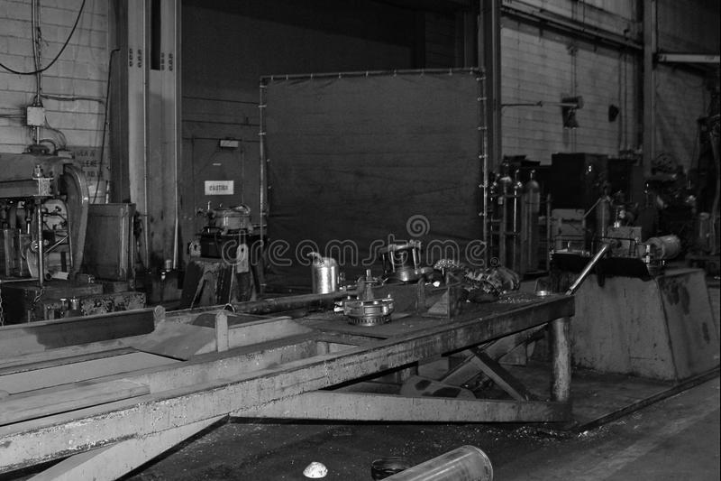 Metal pracy maszyny obraz stock