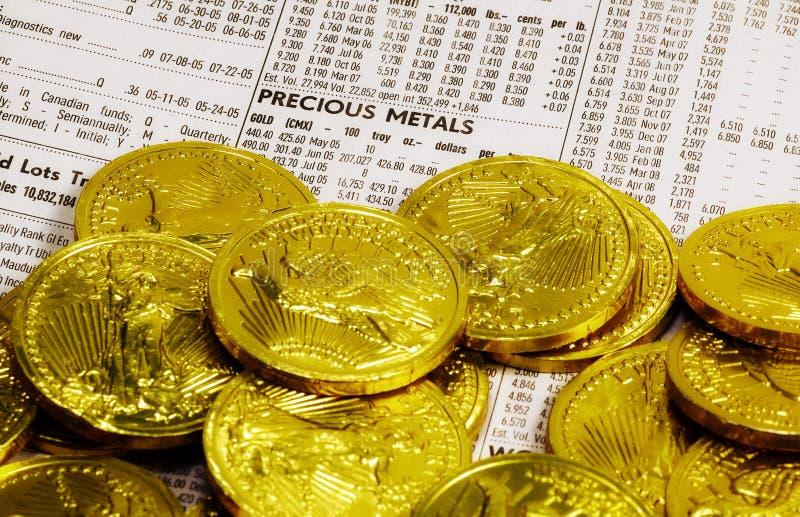 Metal precioso fotos de stock
