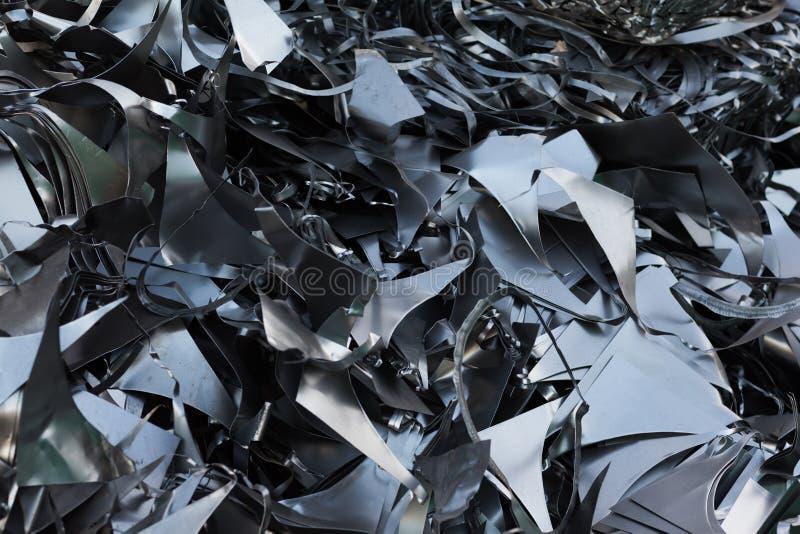 Metal que recicla el modelo fotografía de archivo