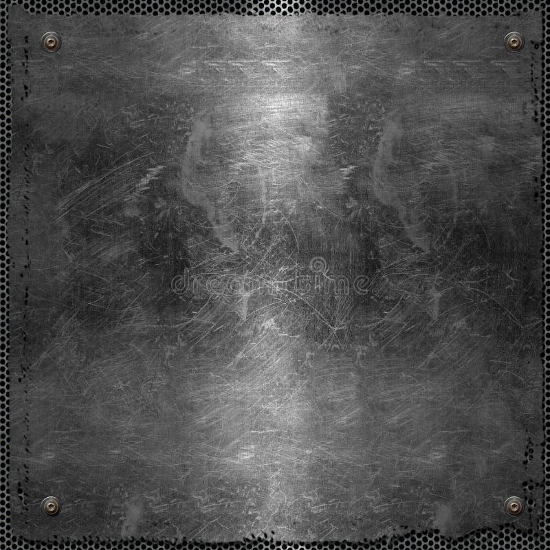 Metal rasguñado foto de archivo