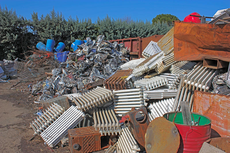 Metal Recycle Stock Image