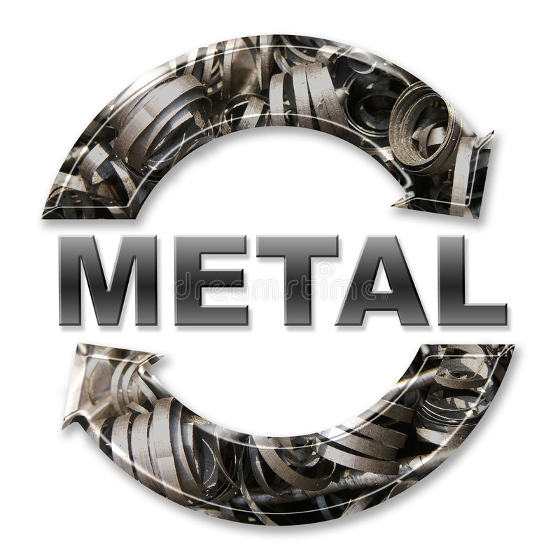 Download Metal Recycling Stock Photo - Image: 1975880