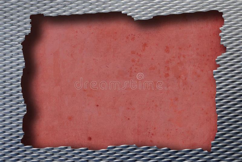 Metal red royalty free stock images