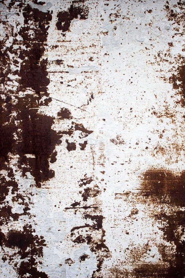 Metal revestido Fundo decorativo do metal velho, corrosão inclinada fotos de stock royalty free