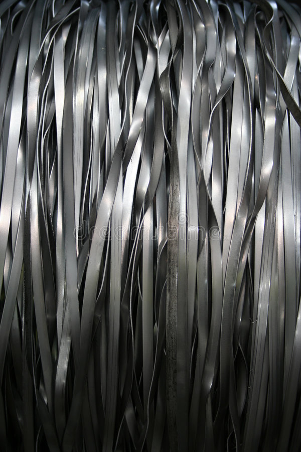 Download Metal Ribbon stock photo. Image of industry, close, ripped - 4575282