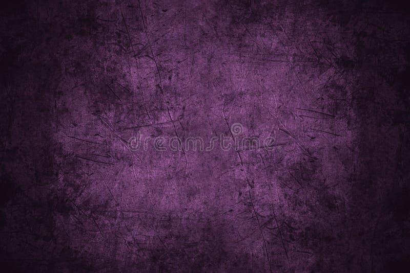 Metal riscado violeta imagem de stock