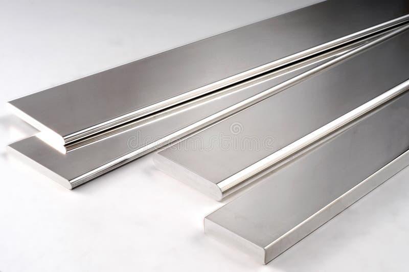 Metal Rod de prata foto de stock