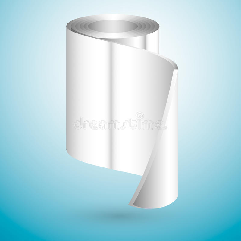 Metal rolka ilustracja wektor