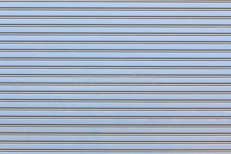 Metal roller shutter for background stock photography